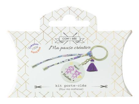 "Kit porte-clés ""maîtresse"""