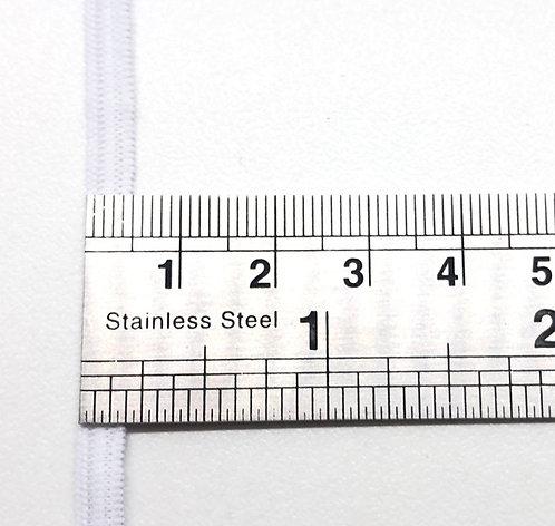 Elastique blanc en 5mm - Vendu au mètre