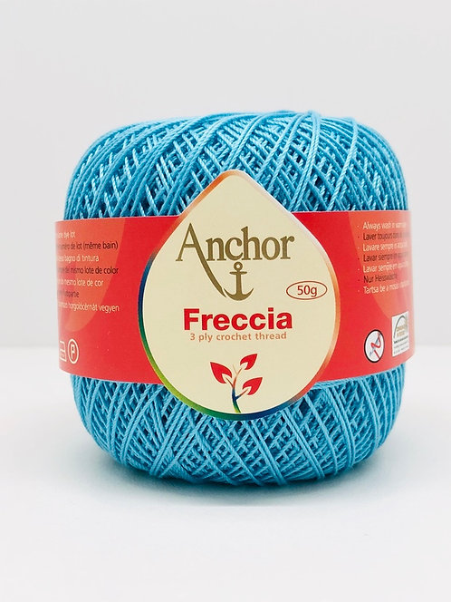 Fil à crocheter 3 brins 100% coton (4x50gr)