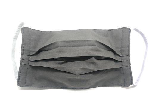 Masque Adulte en tissu lavable - Modèle uni gris