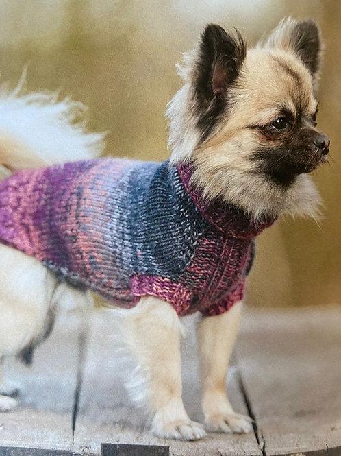 Pull tricoté pour petit chien -  Taille XS