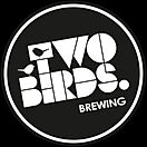(PREFERRED) Two Birds Large Logo (Angled