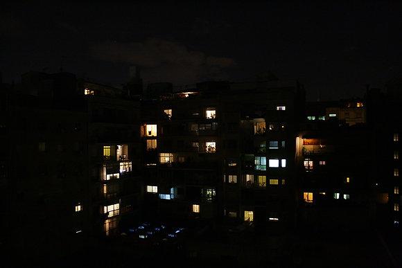 Une ville, la nuit