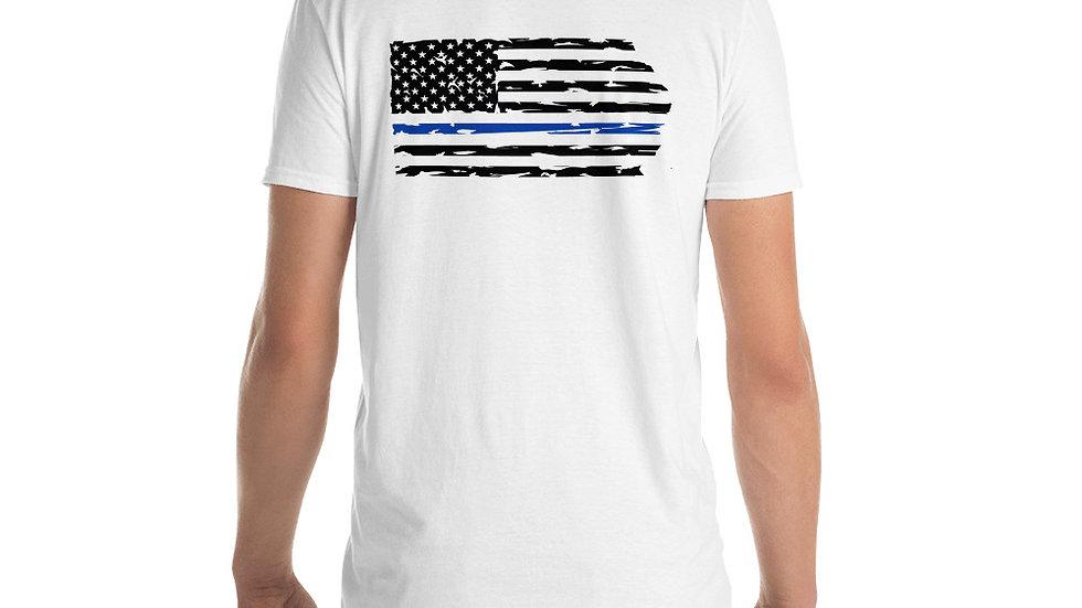Men's Back the Blue Flag Tee