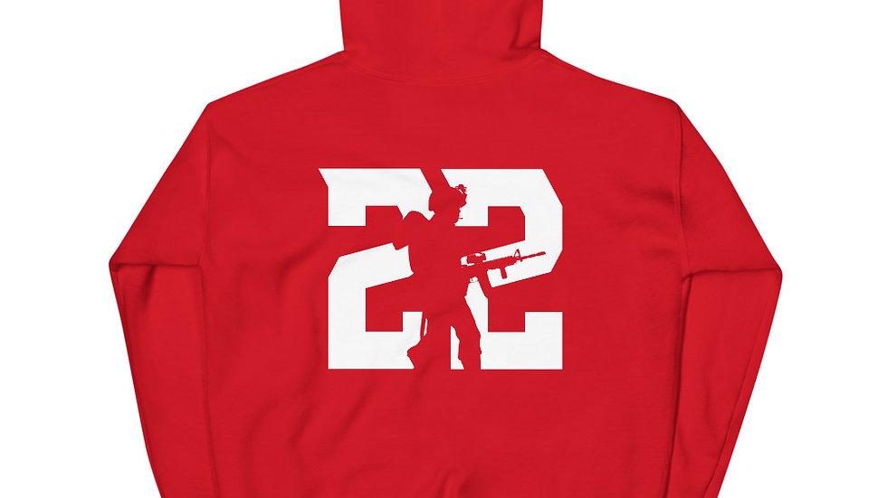 22 Veterans Hoodie