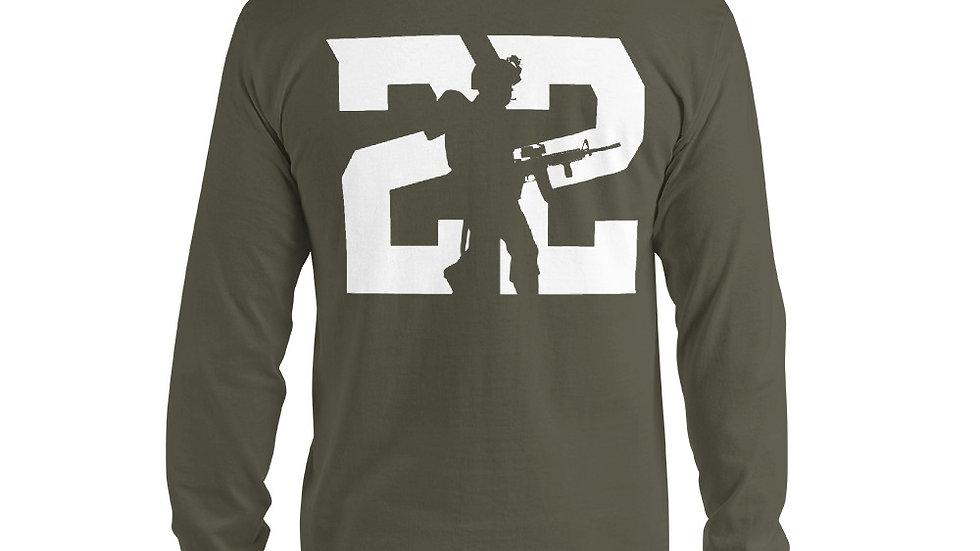 22 Veterans Long Sleeve Tee