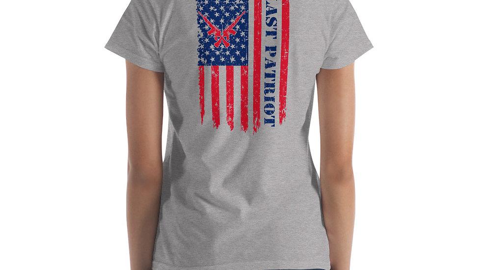 Women's Last Patriot Flag Tee