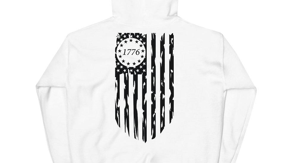1776 Freedom Flag Hoodie