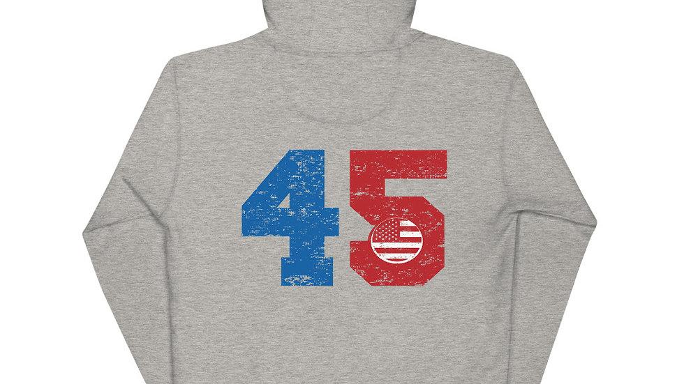Salute to #45 Hoodie