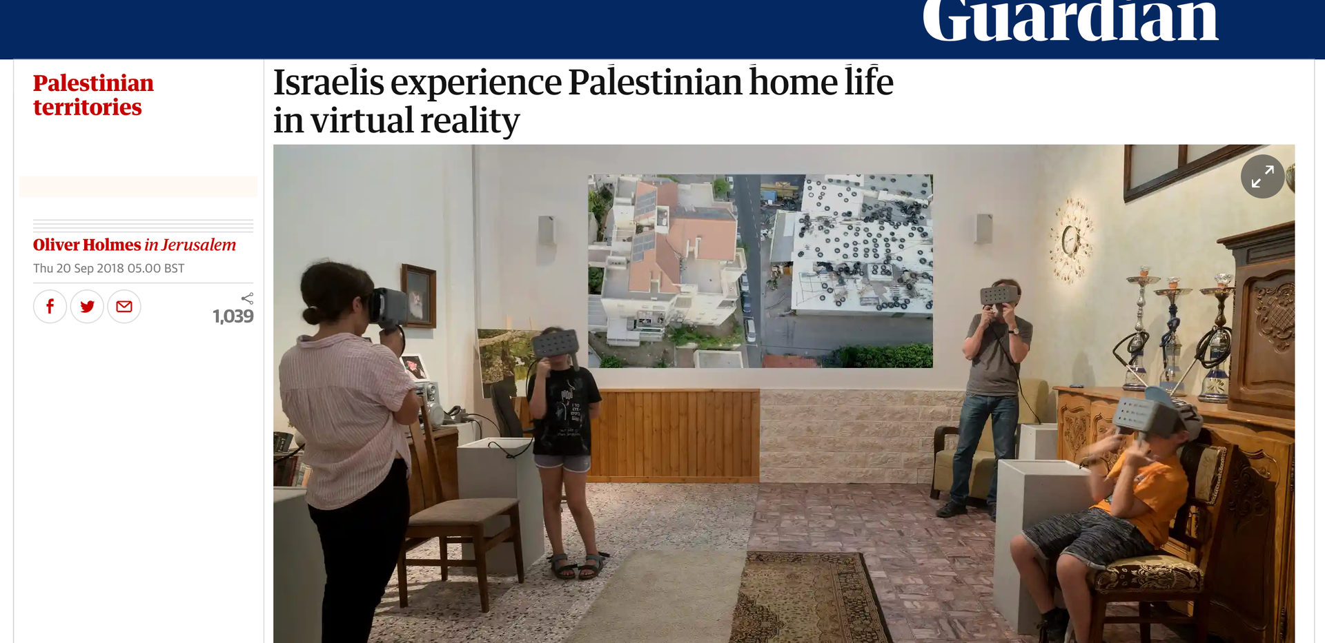 The Guardian, September 20, 2018