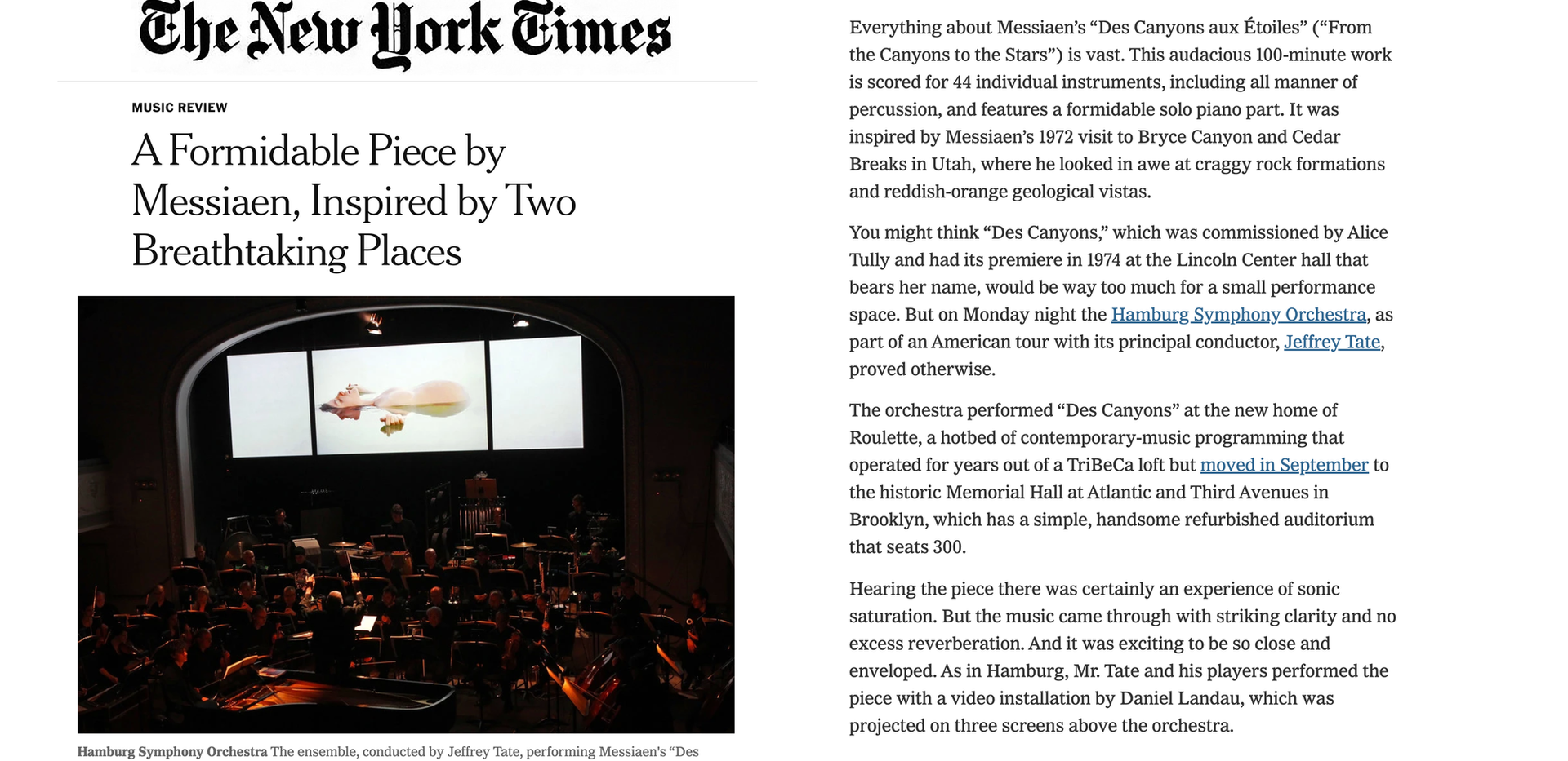 The New York Times - January 24, 2012