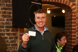 Brian Gotter with winning ticket!