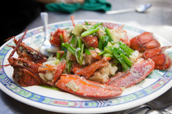 Lobster with Ginger and Scallion