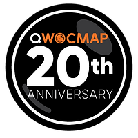 QWOCMAP 20th Anniversary Logo - Black.pn