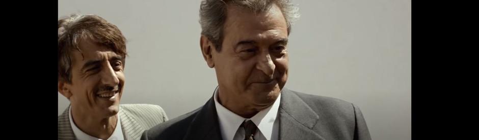 """Ennio con Sergio Rubini in """"La Stoffa dei Sogni"""""""