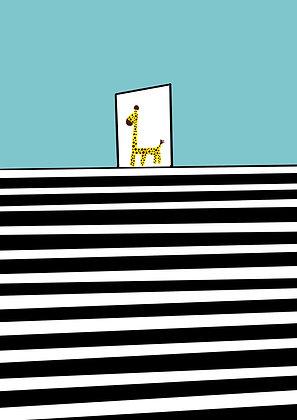 Dørstokk giraffen 2020