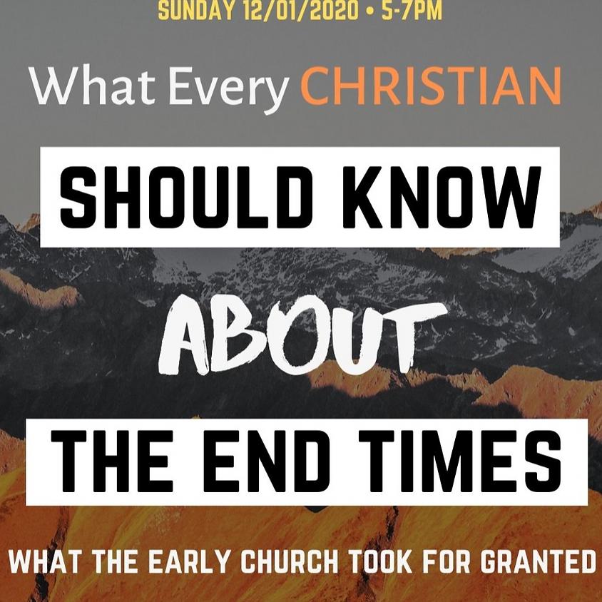End Times Seminar pt 1