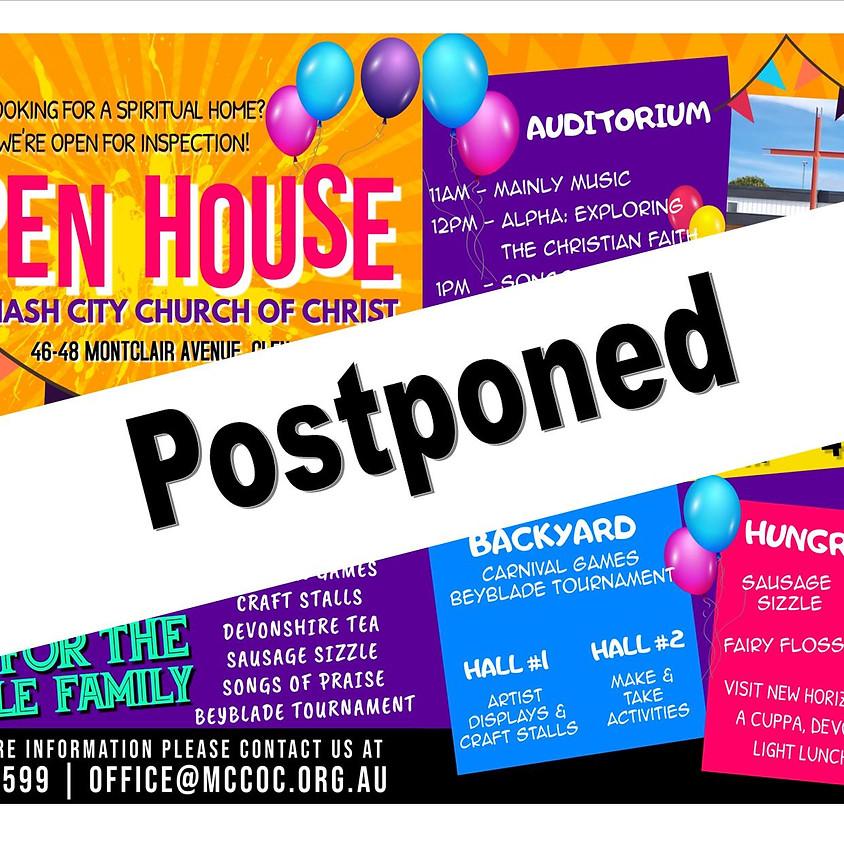 Open House @ MCCOC