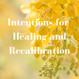Intentions for Recalibration