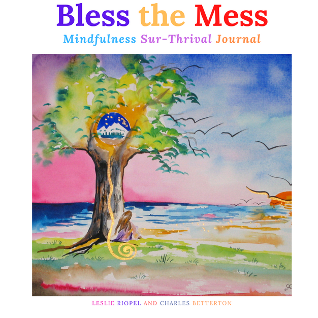 Bless the Mess Journal Black and White Version