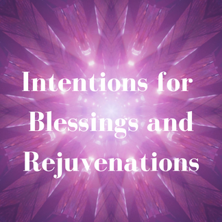 Intentions for Blessings