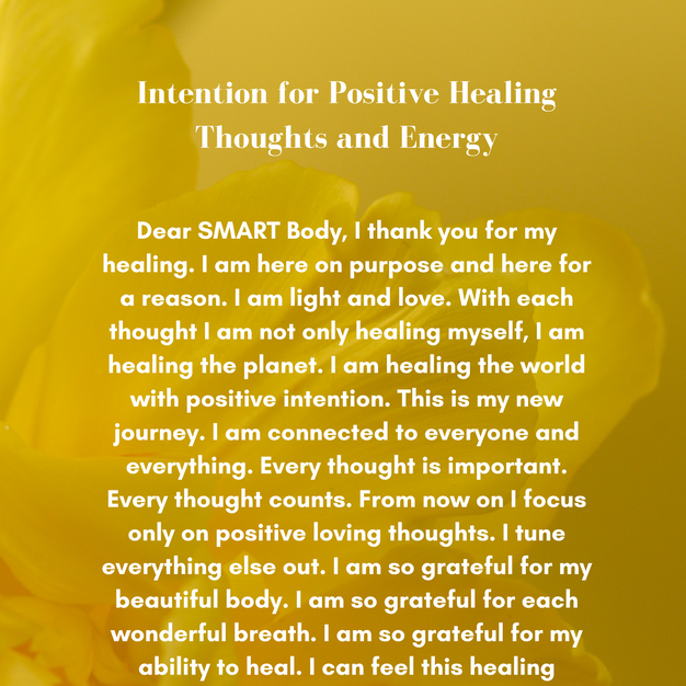 Intention for Positive Healing Thoughts