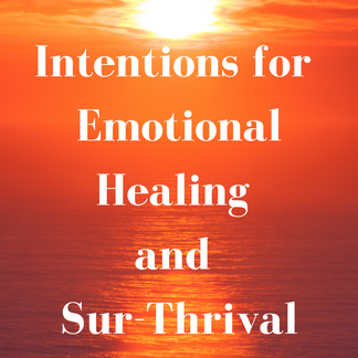 Intentions for Emotional Healing