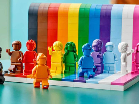 LEGO Debuts Its First LGBT+ Set: The Message? 'Everyone Is Awesome'