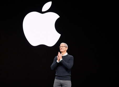 Apple's Tim Cook: A Helping Hand