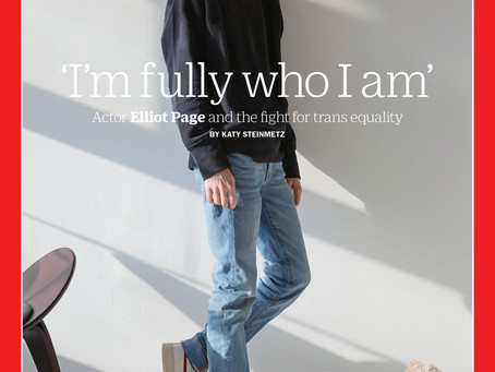 Elliot Page: The First Trans Man To Grace The Cover Of Time