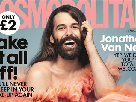 Truly Cosmopolitan: Jonathan Van Ness Makes The Cover