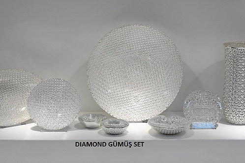 DIAMOND GÜMÜŞ SET