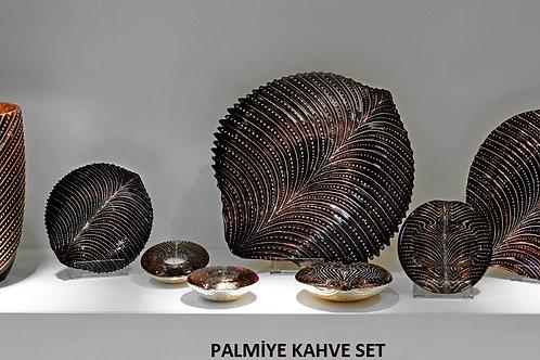 PALMİYE KAHVE ALTIN SET