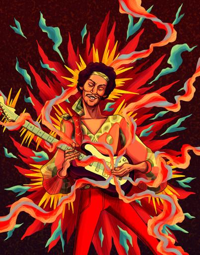Jimi Hendrix - Voodoo Child - December 2019