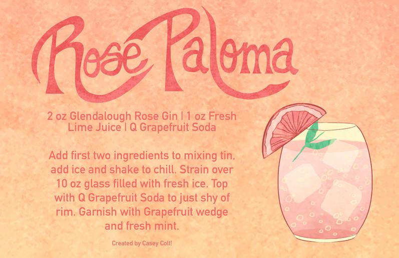 Cocktail Recipe - Rose Paloma