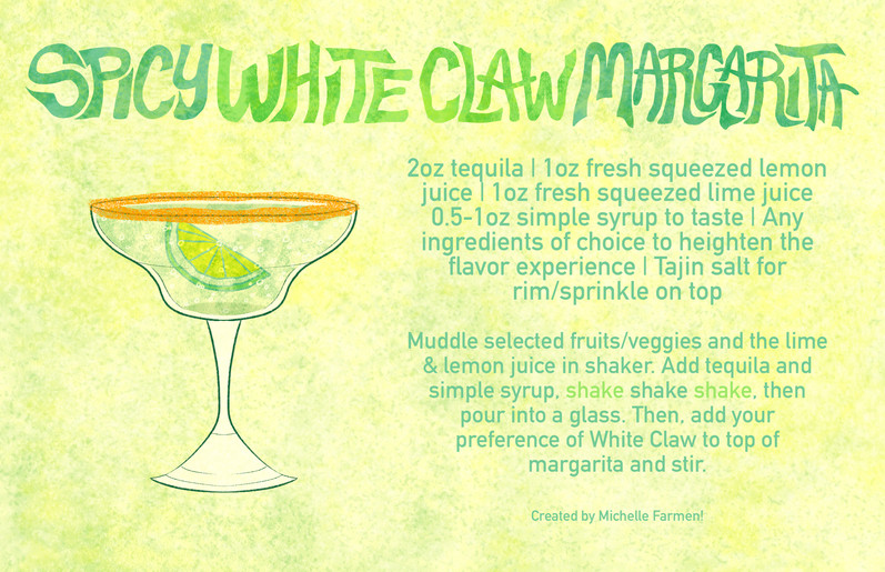 Cocktail Recipe - Spicy White Claw Margarita