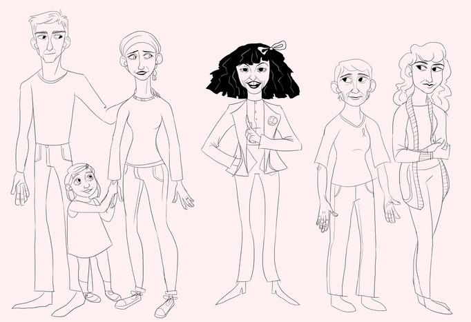 Gilda's Club - Character Lineup