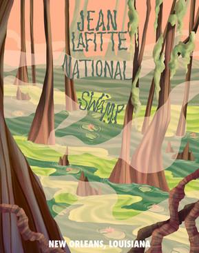 Jean Lafitte National Swamp