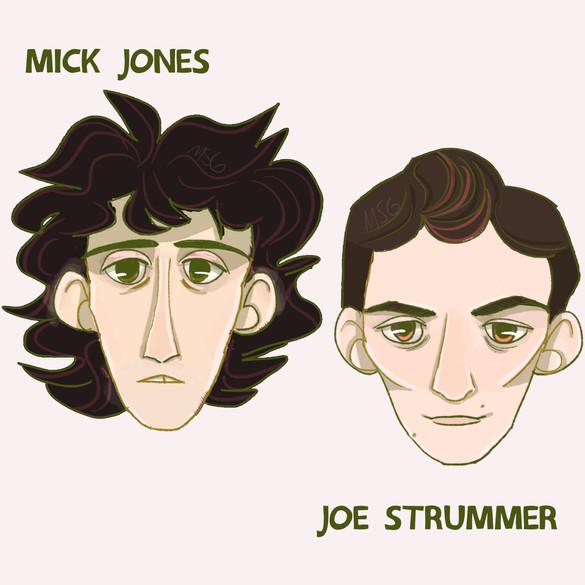 Mick Jones & Joe Strummer