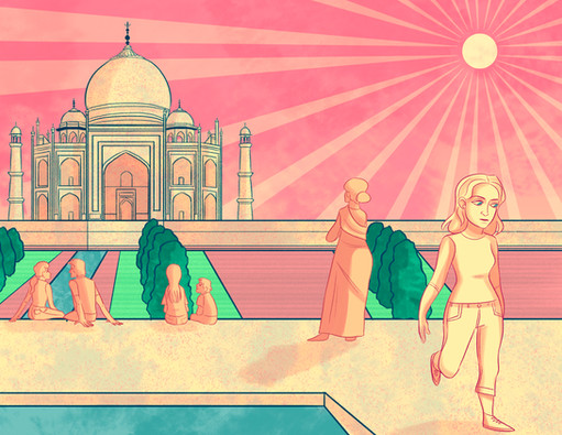 Why I Cannot go to the Taj Mahal - Art
