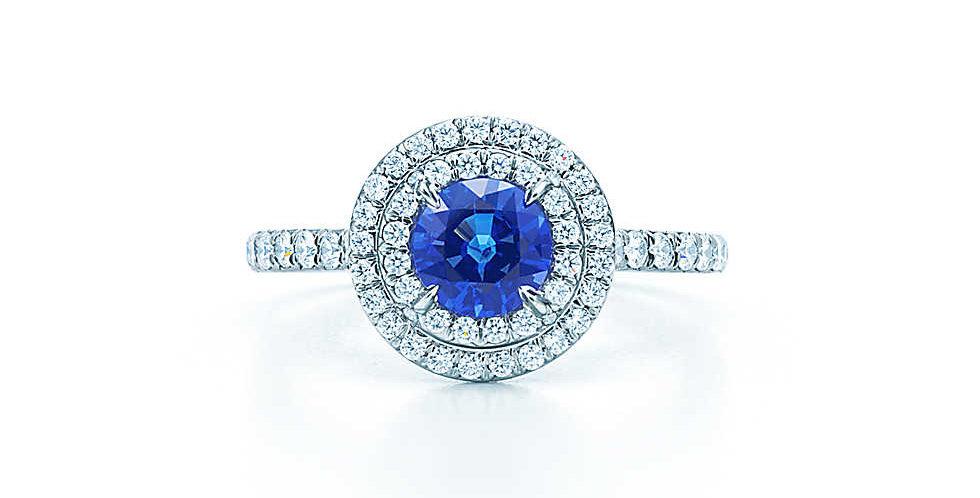 TIFFANY SOLESTE® Sapphire Ring
