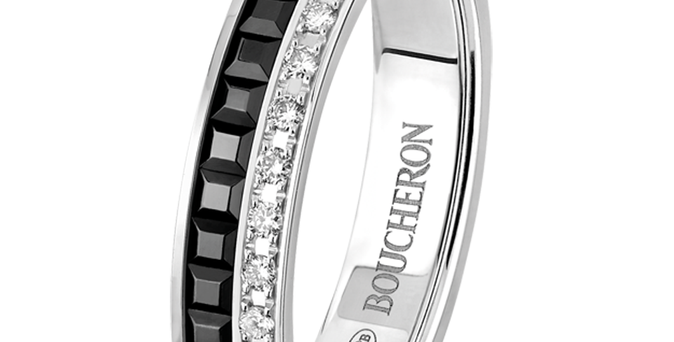 Boucheron Quatre Black Edition Wedding Band