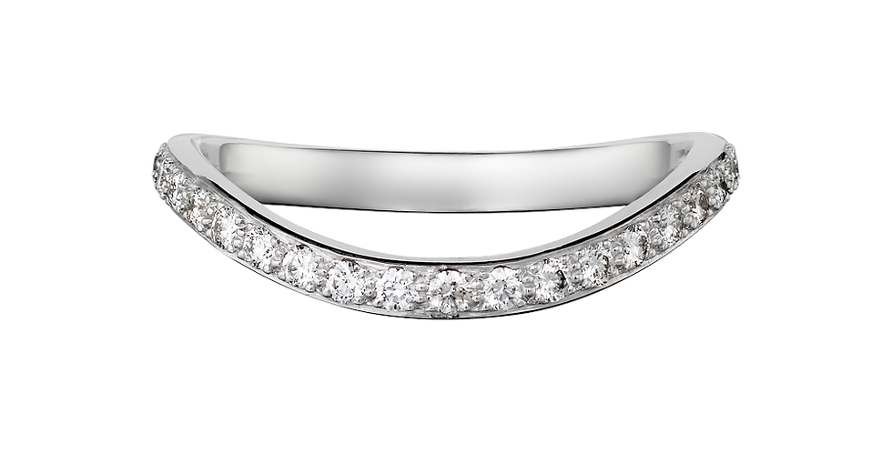 Cartier Trinity Ruban Wedding band