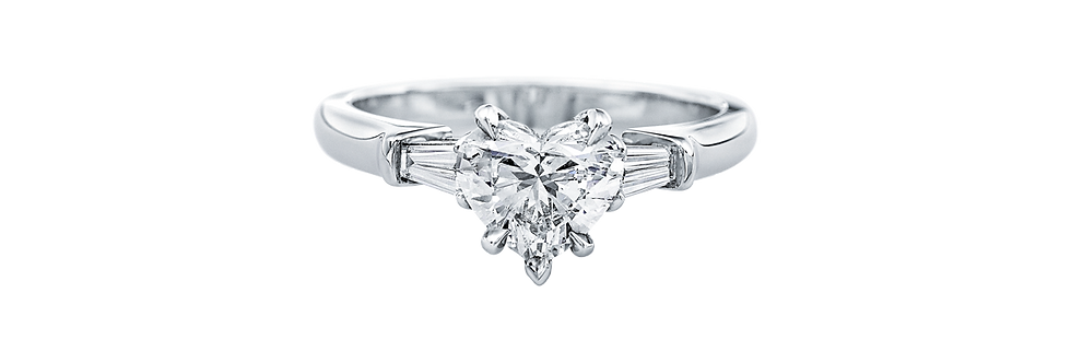 Classic Winston™, Heart-Shaped Engagement Ring