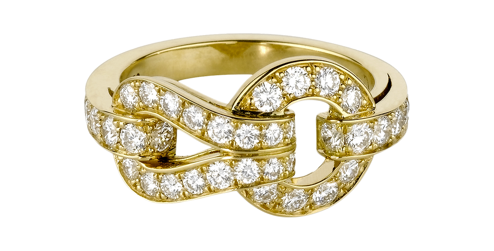 Cartier Agrafe Ring