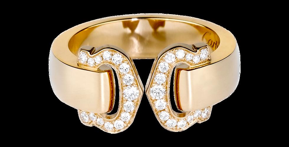Logo Cartier Double C Decor Ring