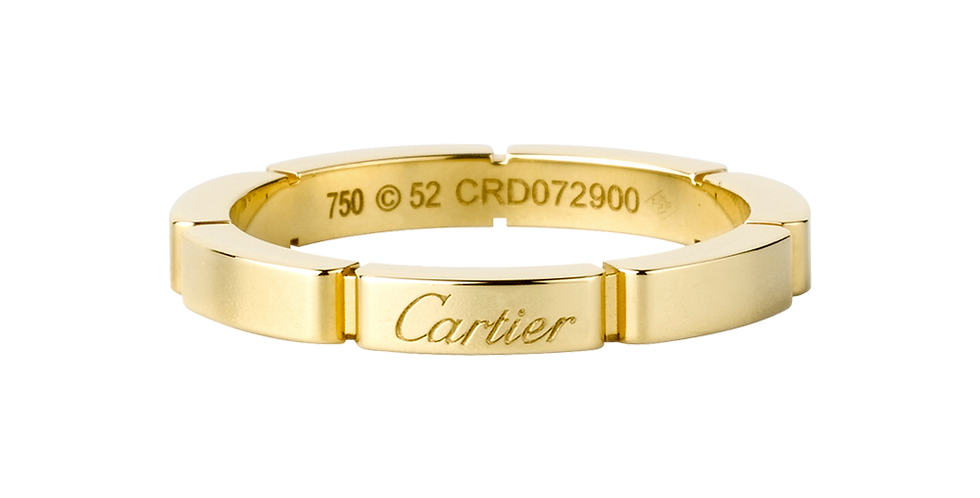 Cartier Maillon Panthère Wedding band