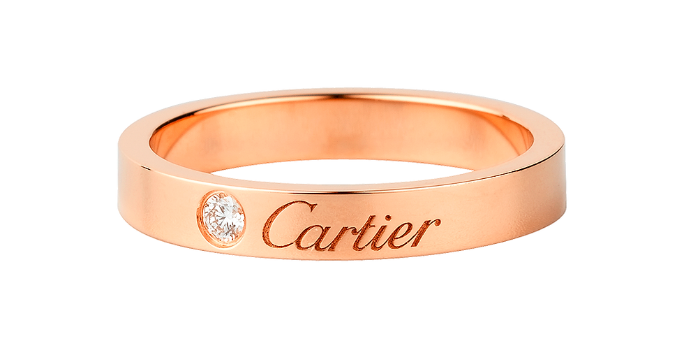 Cartier Engraved Wedding band
