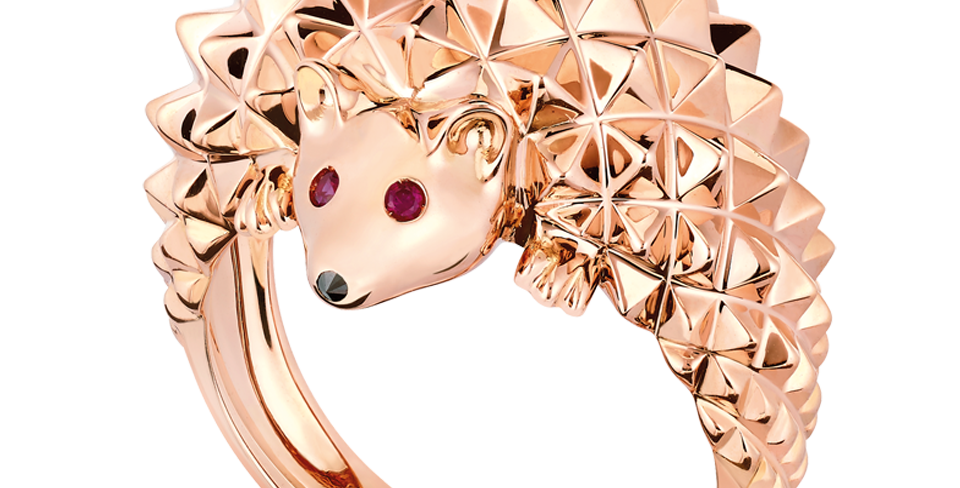 Boucheron Hans, The Hedgehog Ring