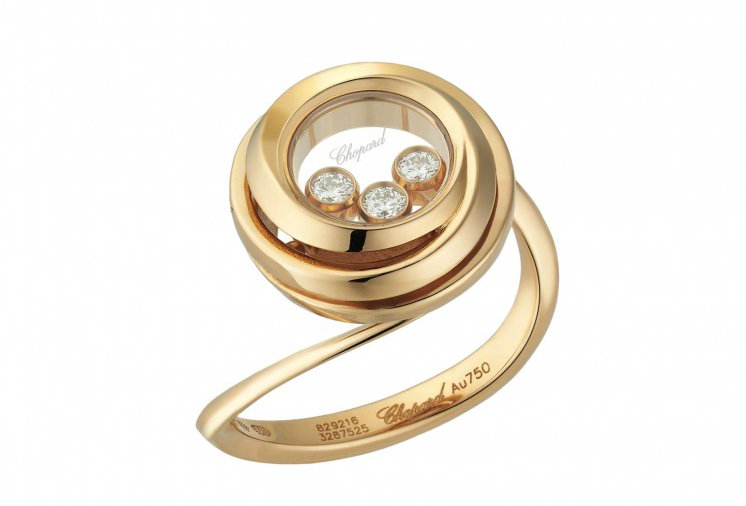 CHOPARD HAPPY EMOTIONS RING